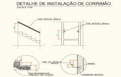 staircase detailing dwg file