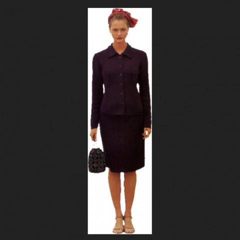 Standing women detail 3d model elevation CAD blocks layout jpeg file
