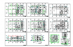 structure detail dwg file