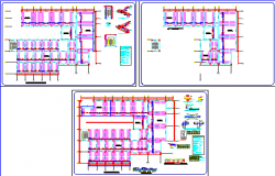 structure medical center dwg file