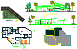 tourist information center dwg file