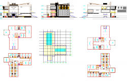 transit Building design dwg file
