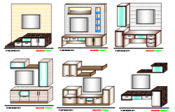 tv unit designs file