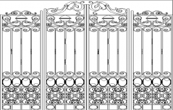 wroughtirongates dwg file