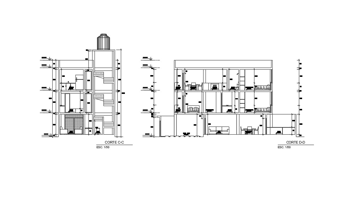 Download Free Duplex House Plans In AutoCAD File