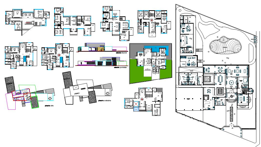 House detail plan.