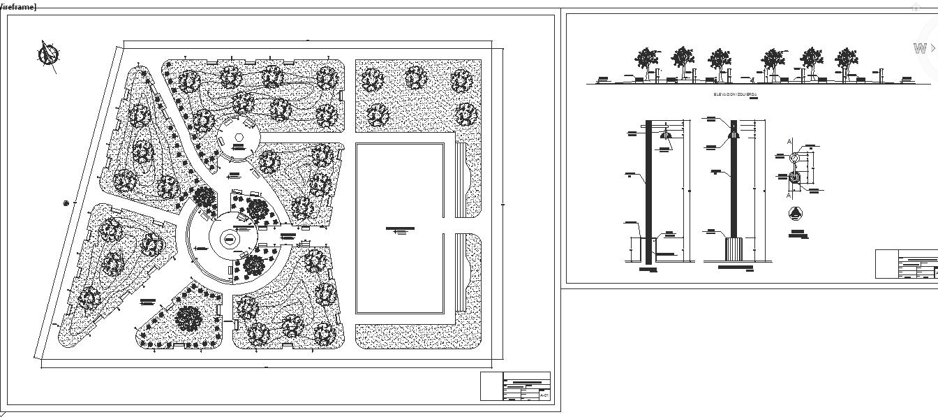 Large children Park Design