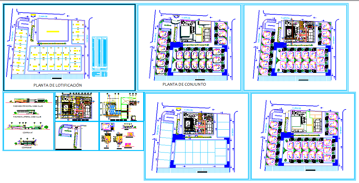 Club House Detail plan