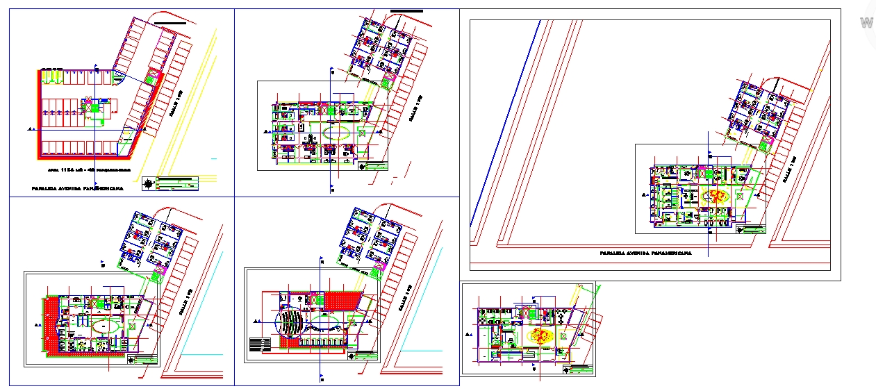 Health care Centre detail plan