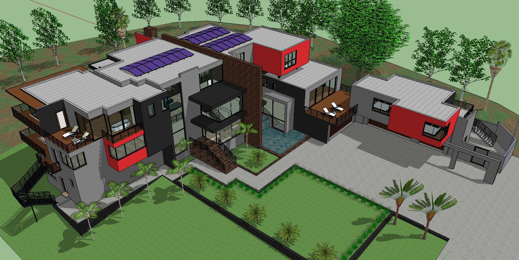 3d Residence house