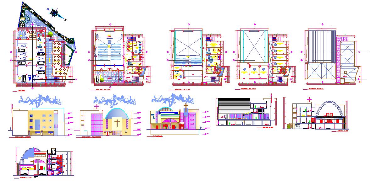 Church Detail plan
