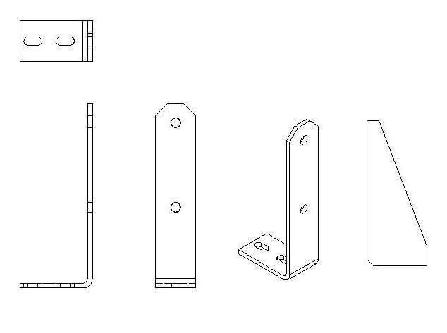 2D Bearing Support Plate