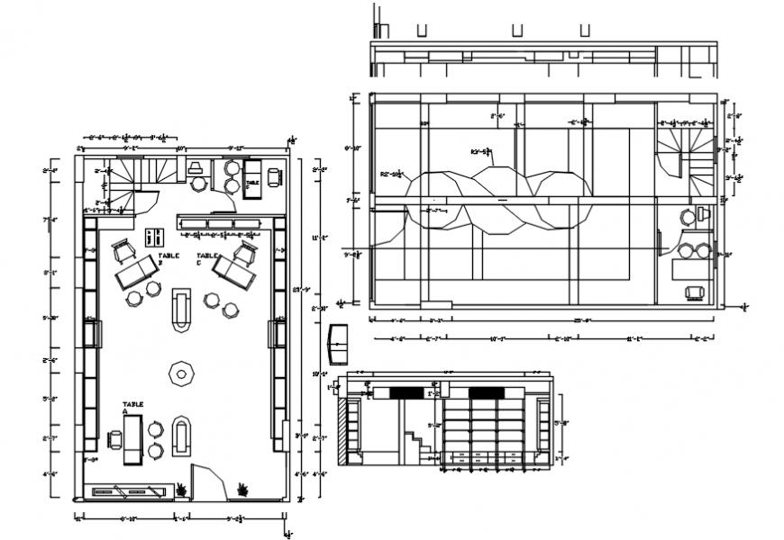 2d cad drawing of false ceiling Autocad software - Cadbull