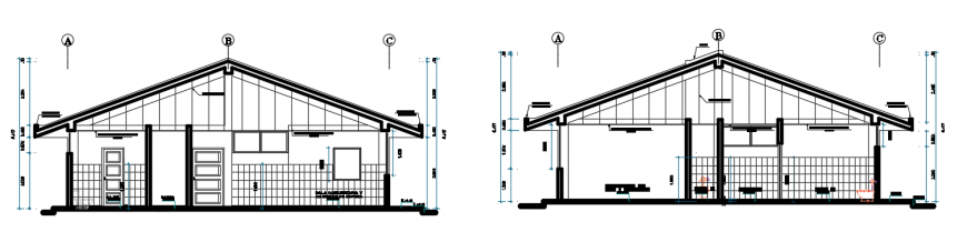 2d cad drawing of health elevation autocad software