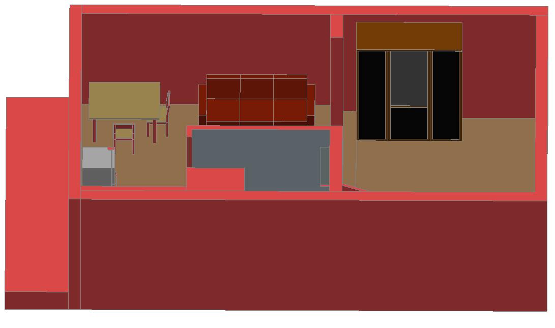 3 d small apartment plan detail