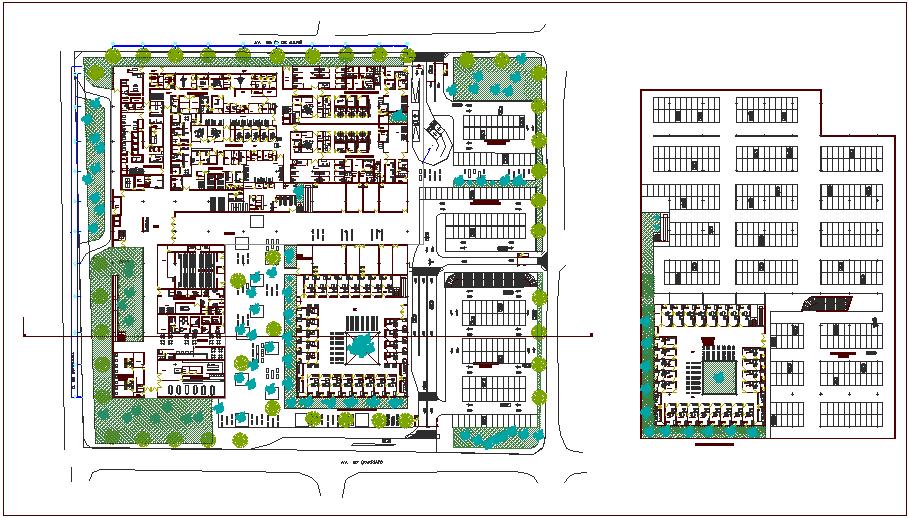 Hospital Building Plans Dwg