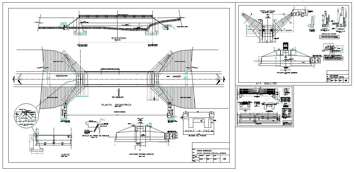 Steel Structure Bridge Detail