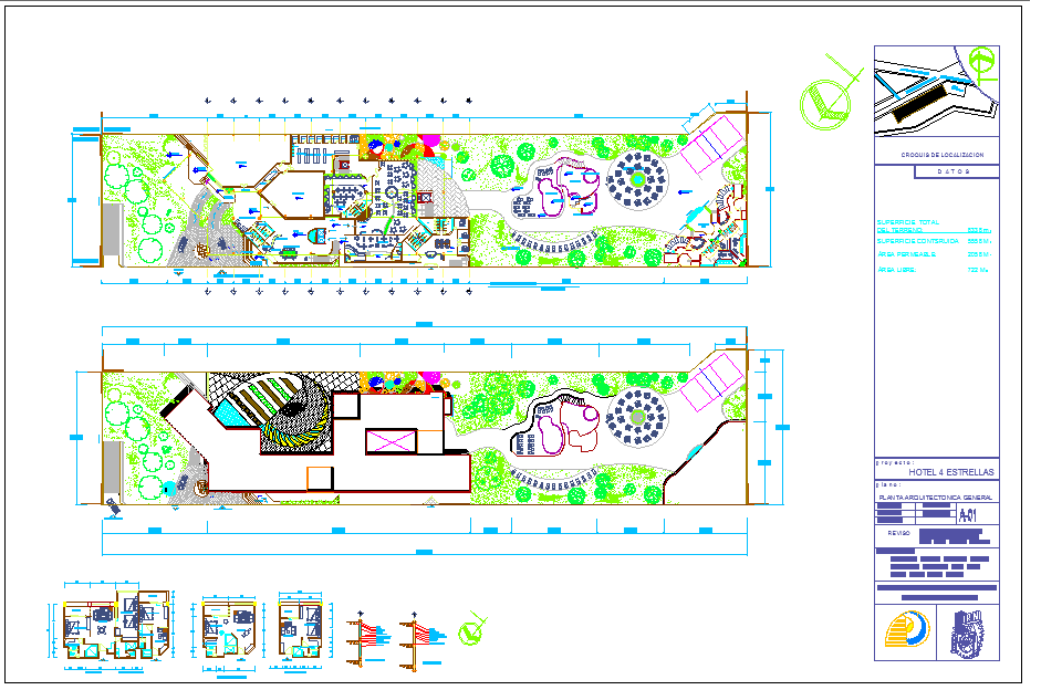 Design for hotel