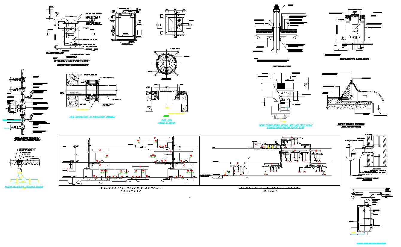 Pipe Fitting Detail Plan