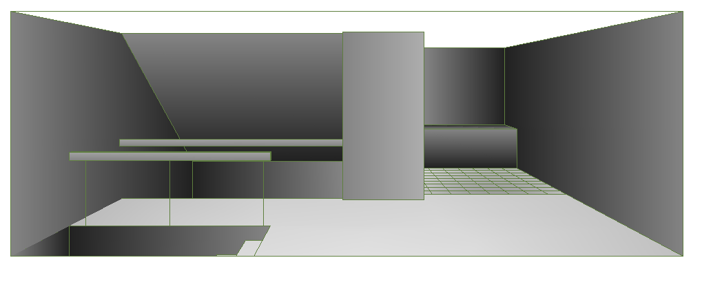 3D Design of Community Police Station House dwg file