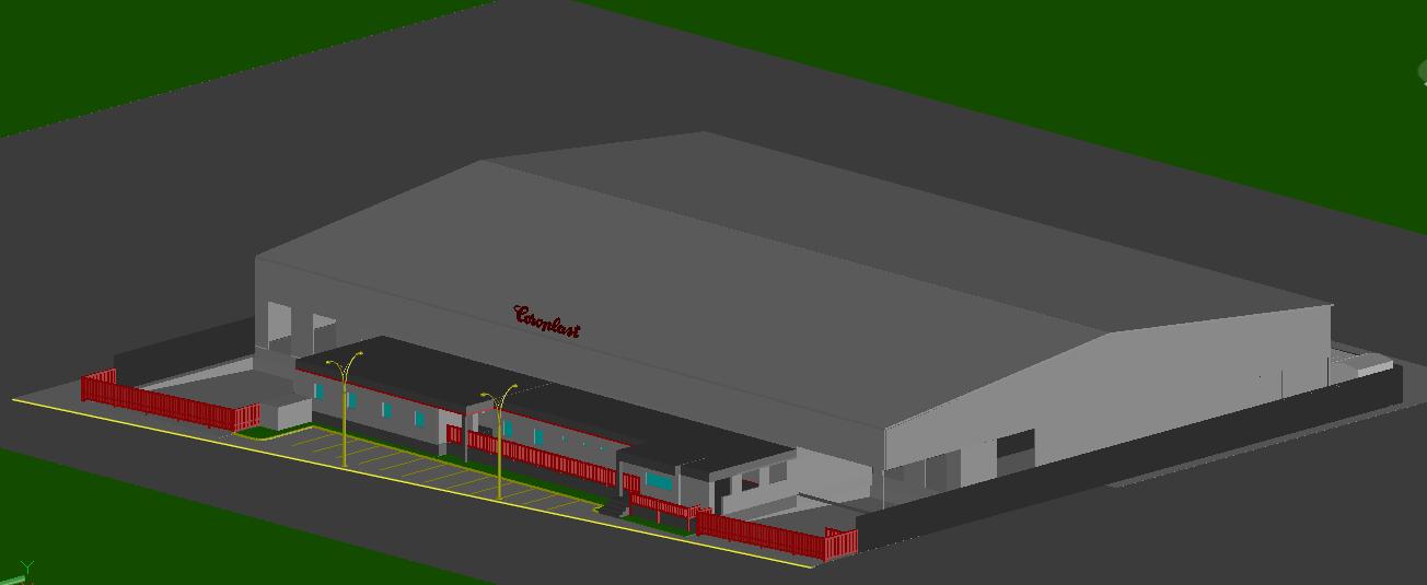 3D Factory Shade design