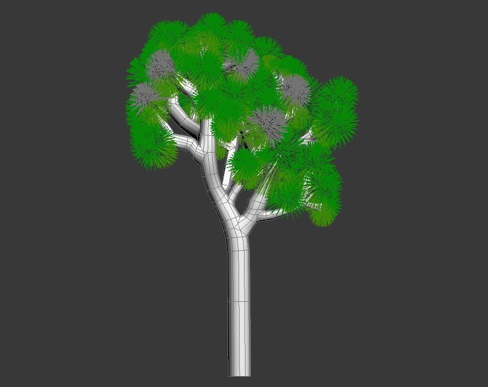 3D Joshua Tree MAX File