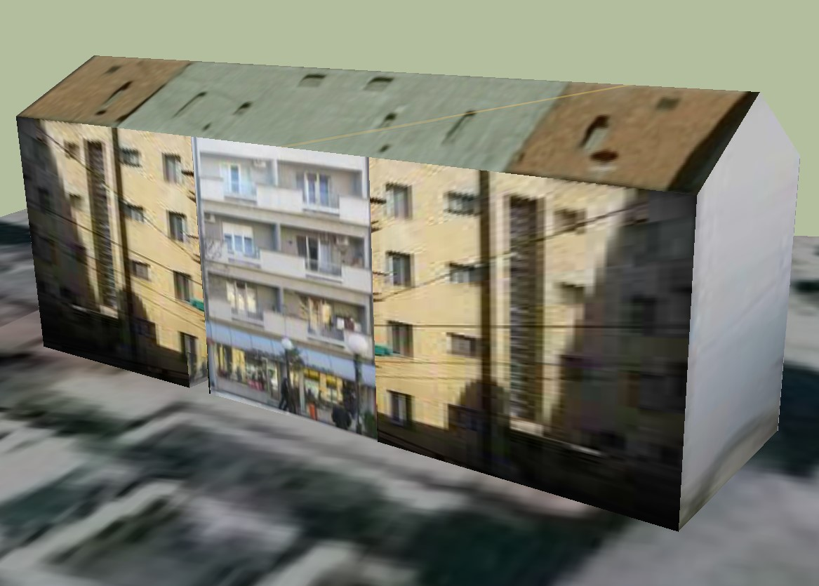 3D drawing of the residential apartment