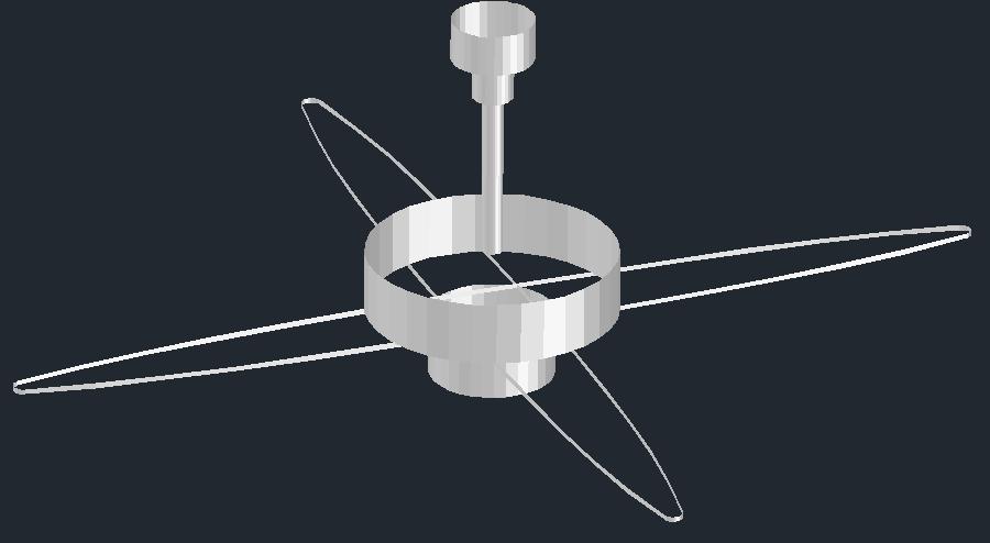 3D view of a ventilator