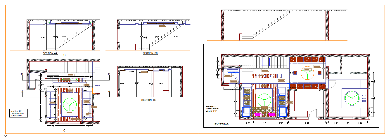 Ceiling level Design