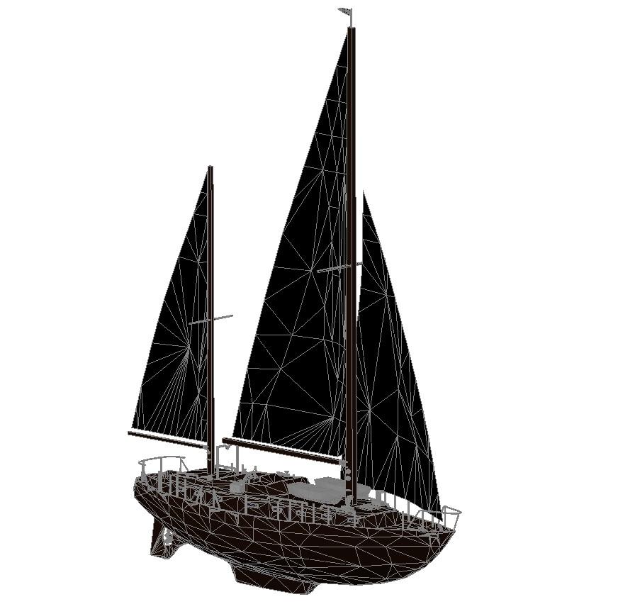 3d Boat Design