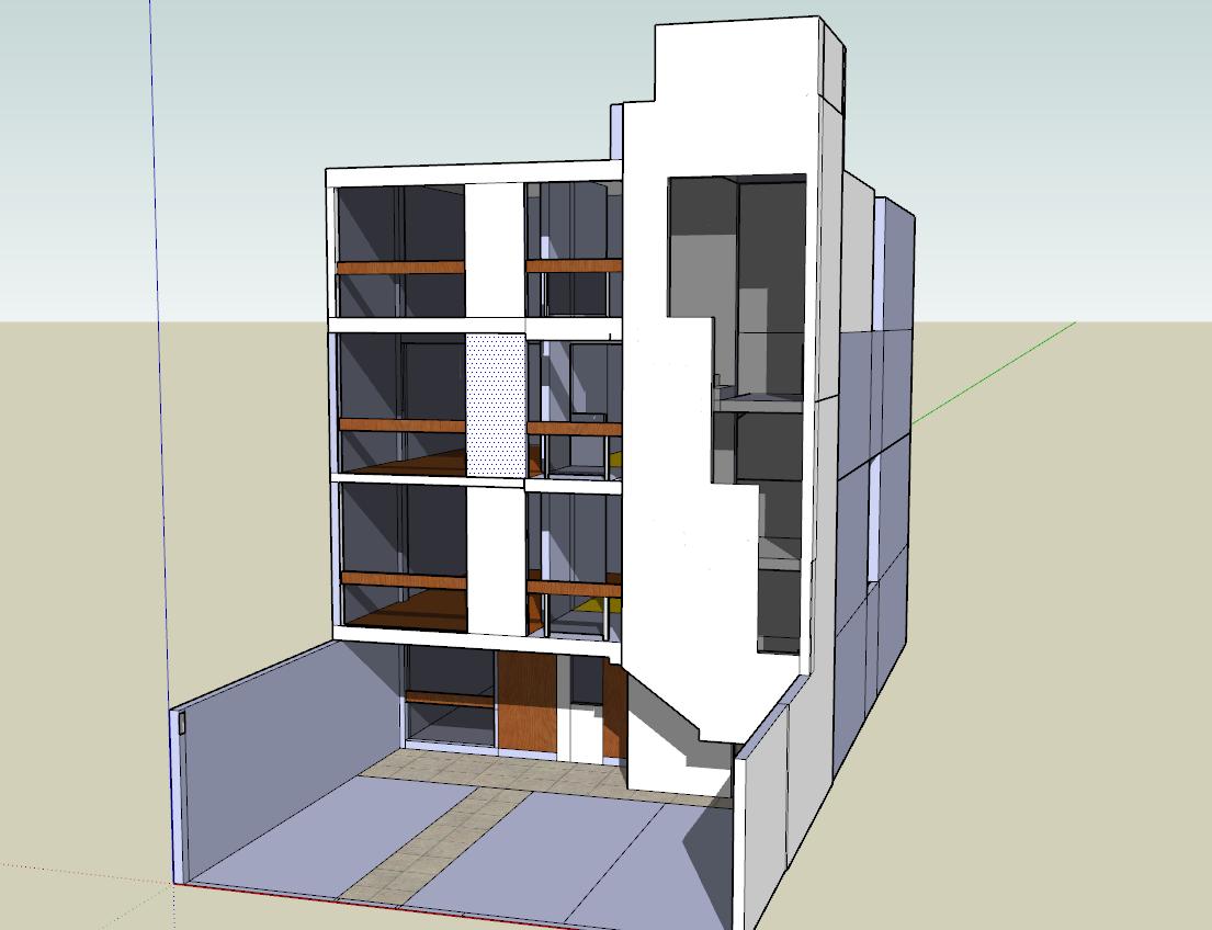 3d Multifamily Building Design