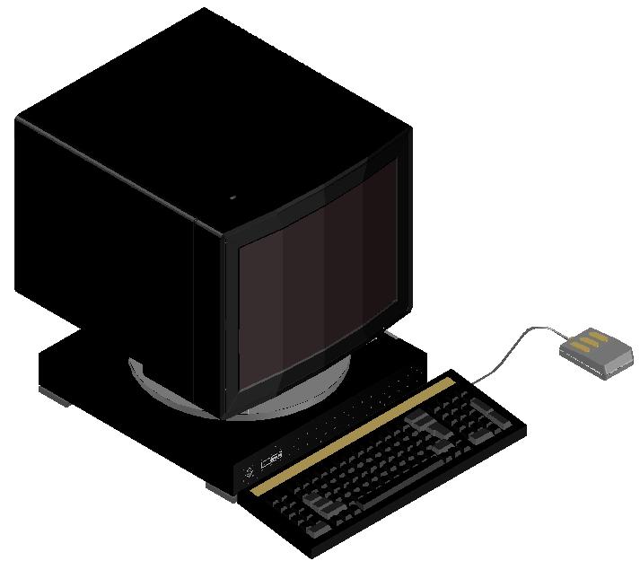 3d computer dwg file