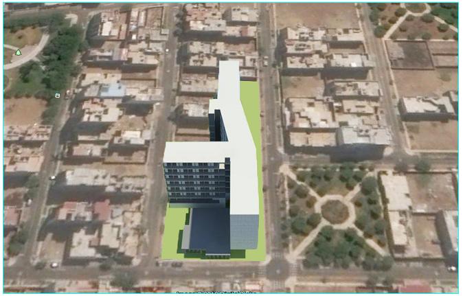 3d design of multi-flooring college dwg file