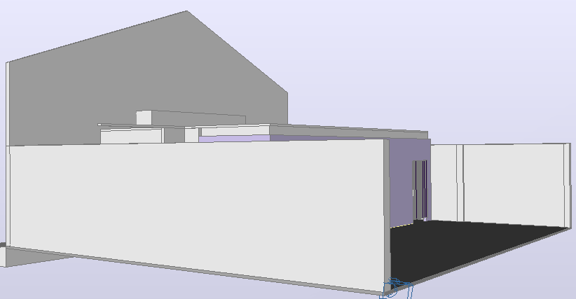 3d design of store auto-cad details dwg file