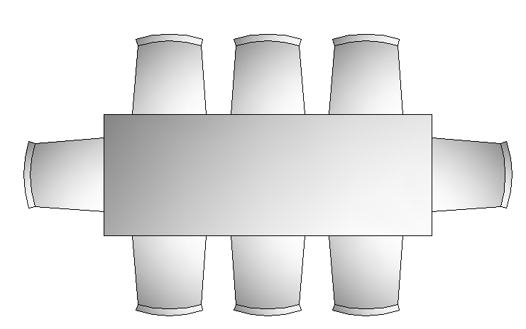 3d eight sheets dining table design block dwg file