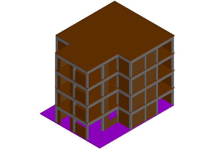 3d model of high rise building dwg file