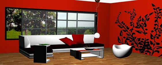3d TV Family Room