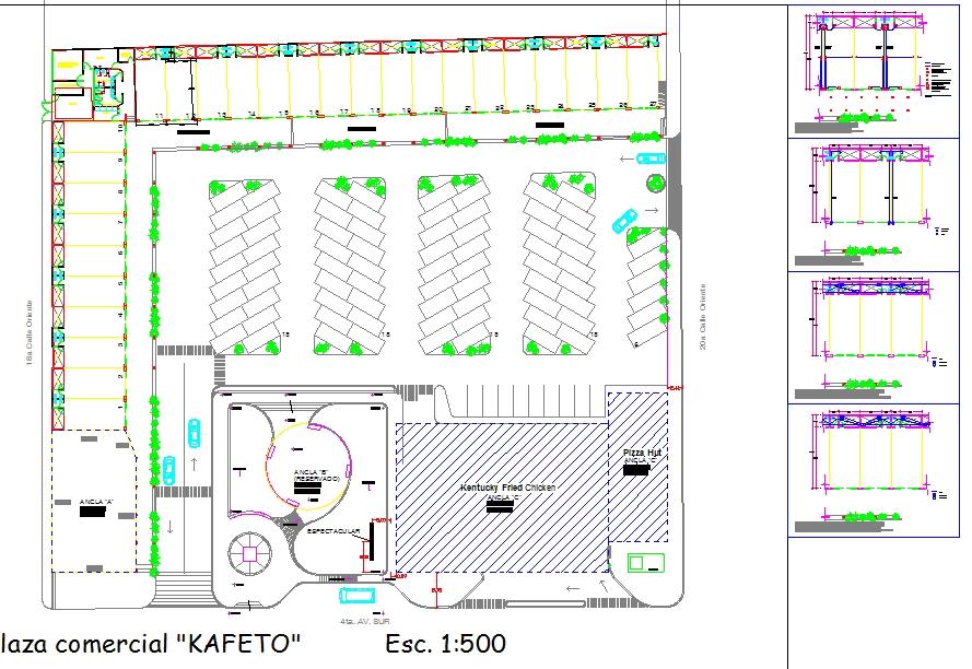 Commercial Complex Plan