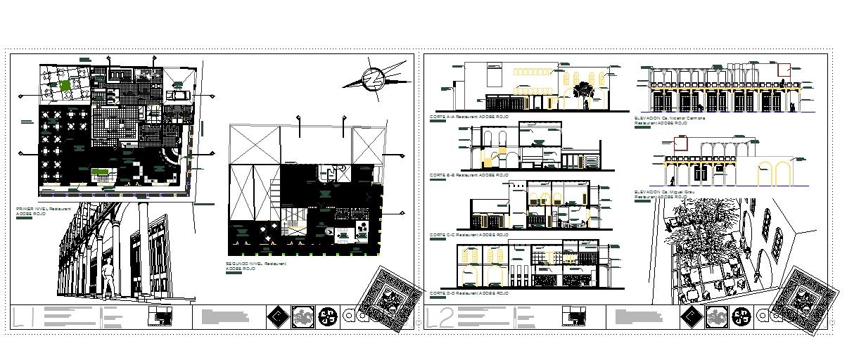 New plan Design For restaurant