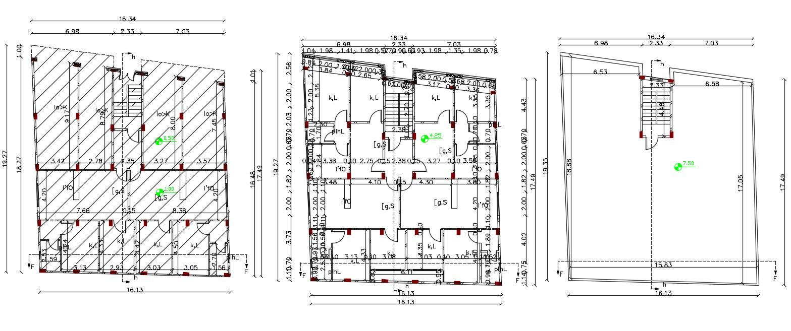 Feet Hotel Bedrooms Floor Plan Design