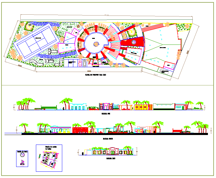 Residential tourism project