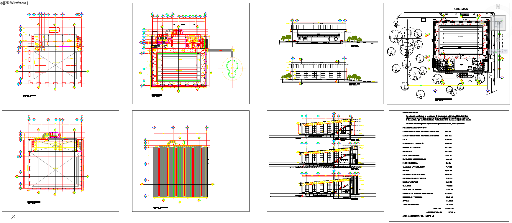 Sport Centre Plan design