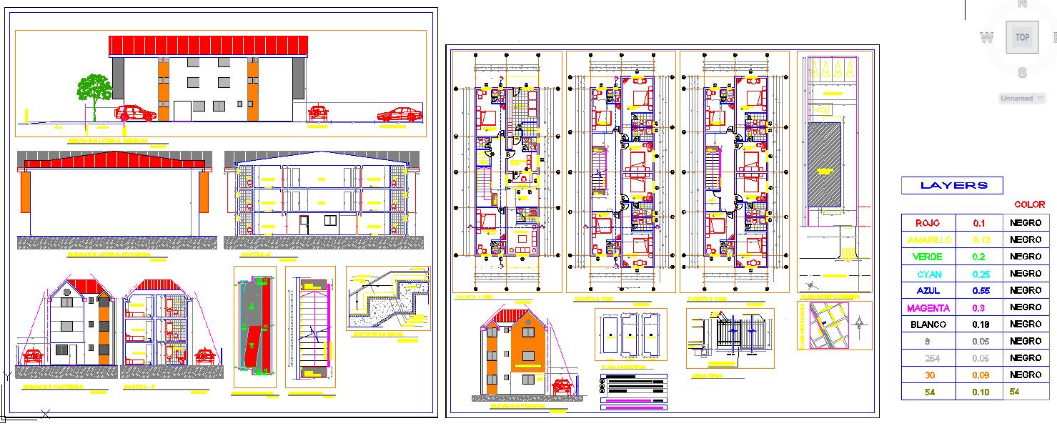 Master plan of hotel