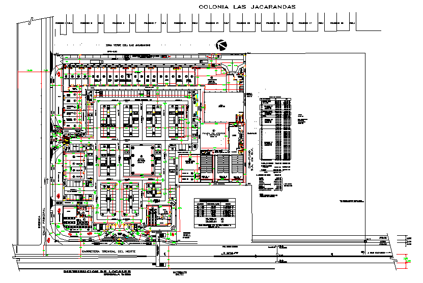 Shopping Centre Lay-out design