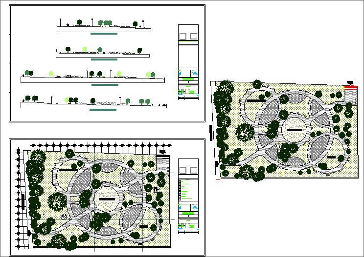Park Detail plan