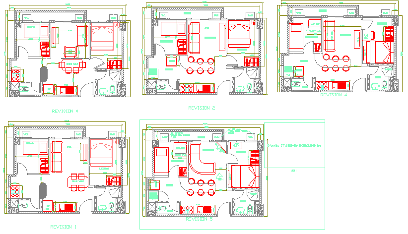 Architecture Apartment  plan