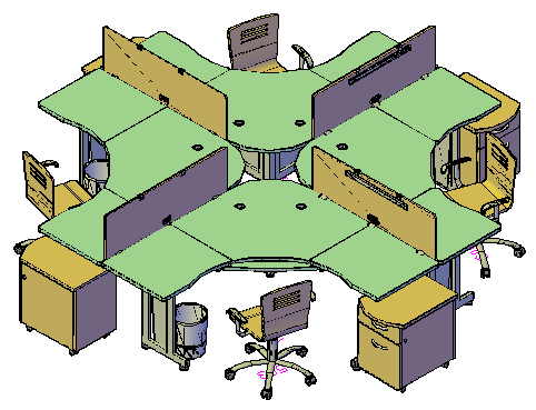 Workstation drawing
