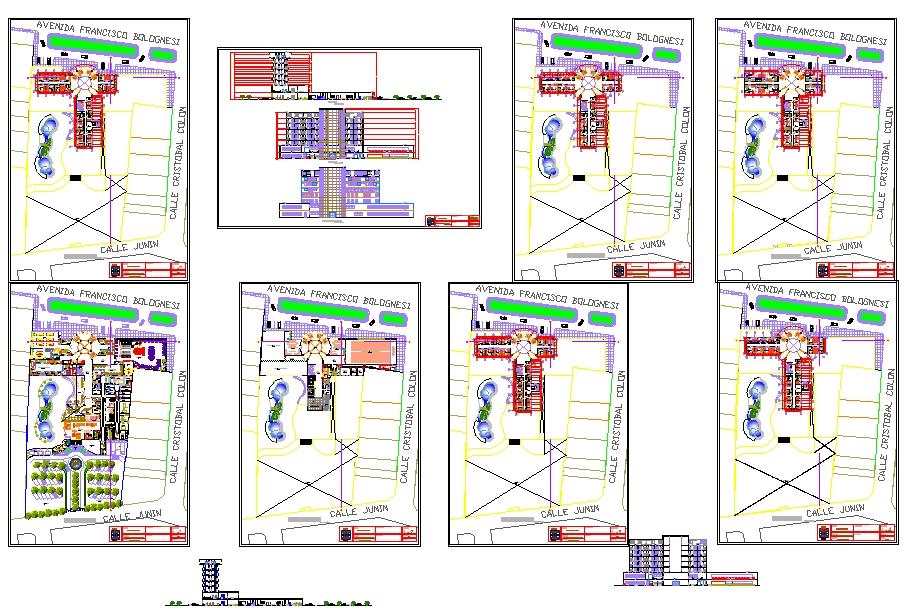 5 Star Hotel plan Download file