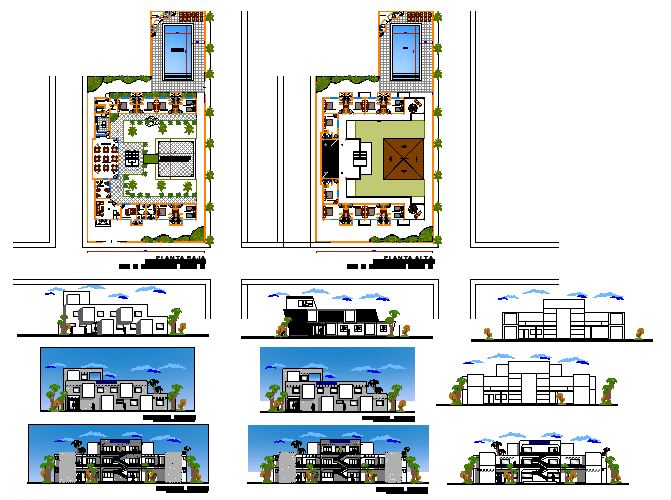 Hostel Design Project