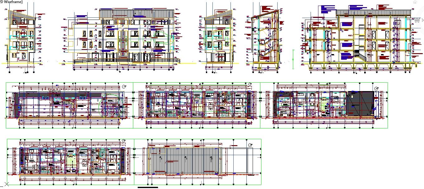 Apartmebt Home Design Building